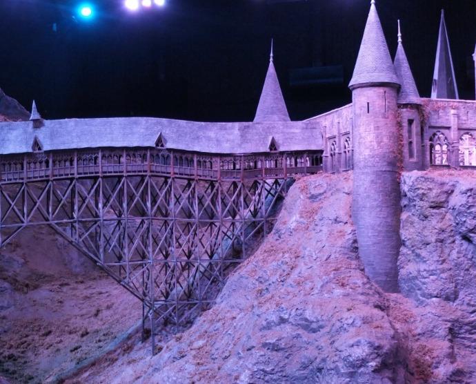 Hogwarts castle model