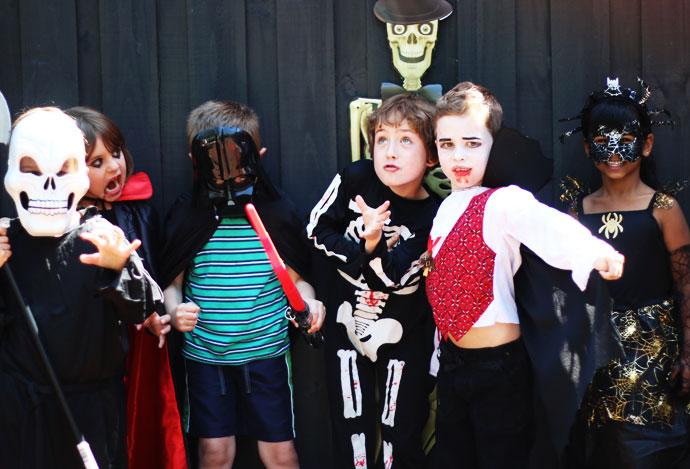 Halloween party kids costumes