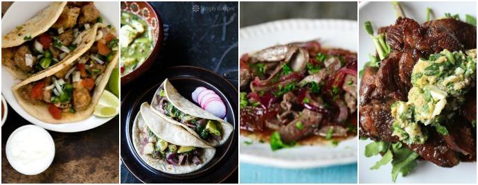 Offal recipes - tacos