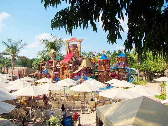 aquaventure splashers playground