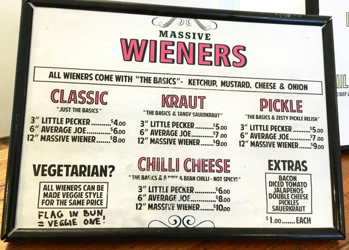 massive wiener hot dogs