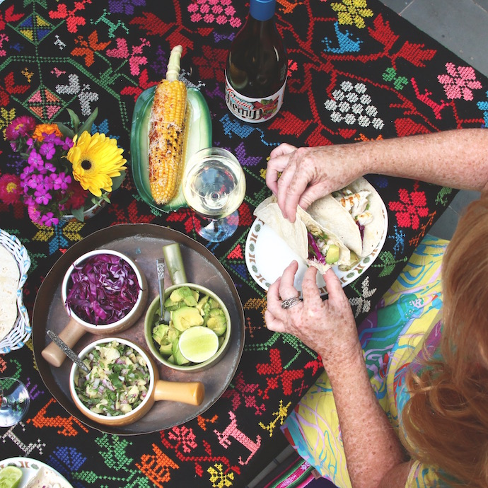 Fish Tacos with Pineapple salsa recipe mypoppet.com.au