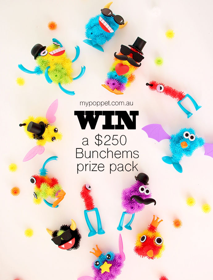 Win a Bunchems Prize pack - GIVEAWAY mypoppet.com.au
