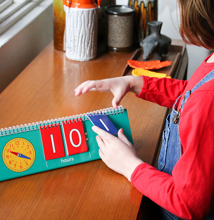 how to help kids learn to tell the time