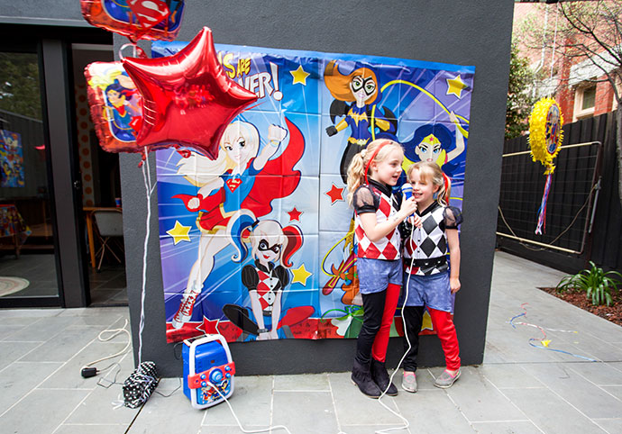 Emma's 'DC Super Hero Girls' Party - Fun Party Food