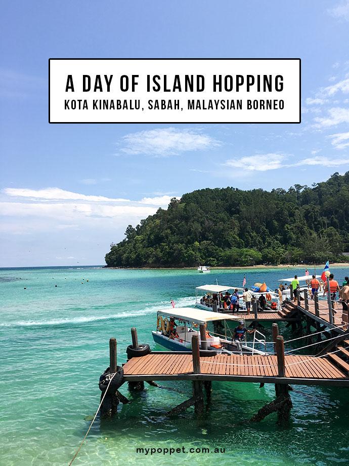 island hopping tour, A day trip in Sabah, Kota Kinabalu, Malaysia - Snorkeling and zipline adventure