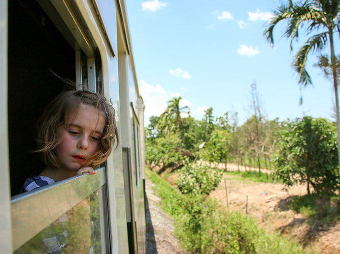 North Borneo Railway - family travel