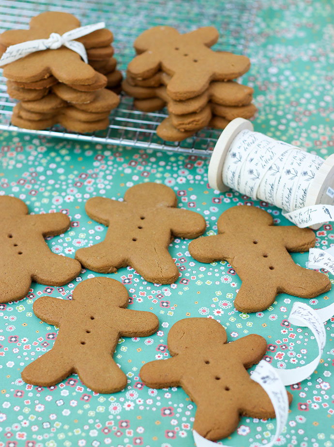 Gingerbread cookie recipe - egg free - allergy friendly mypoppet.com.au