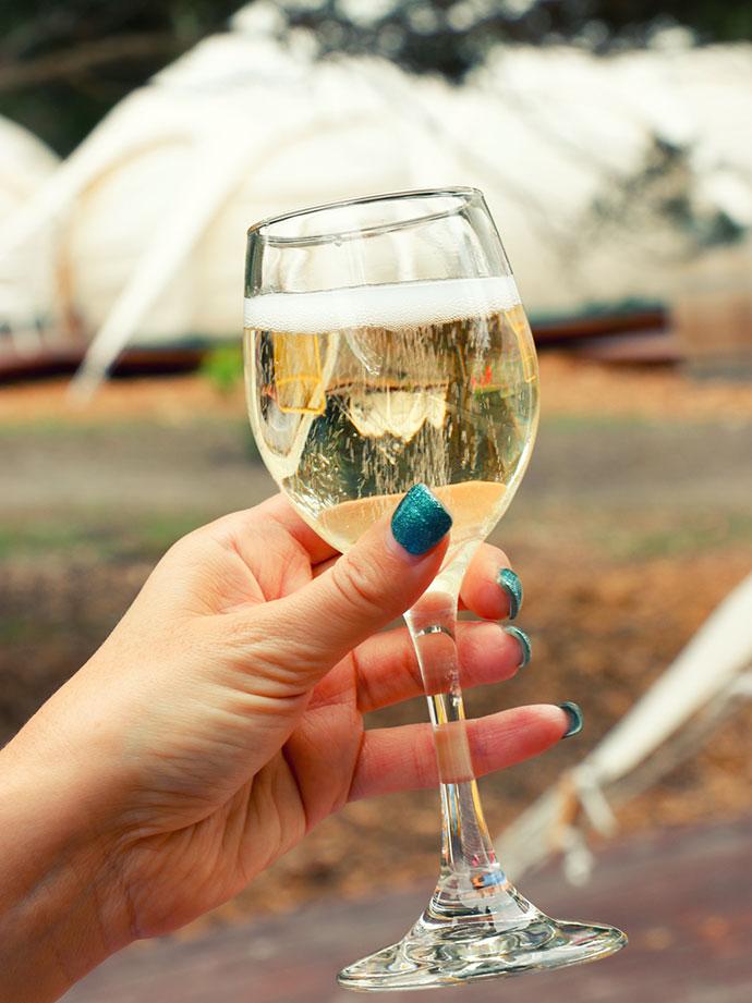 glamping Wine - yarra valley