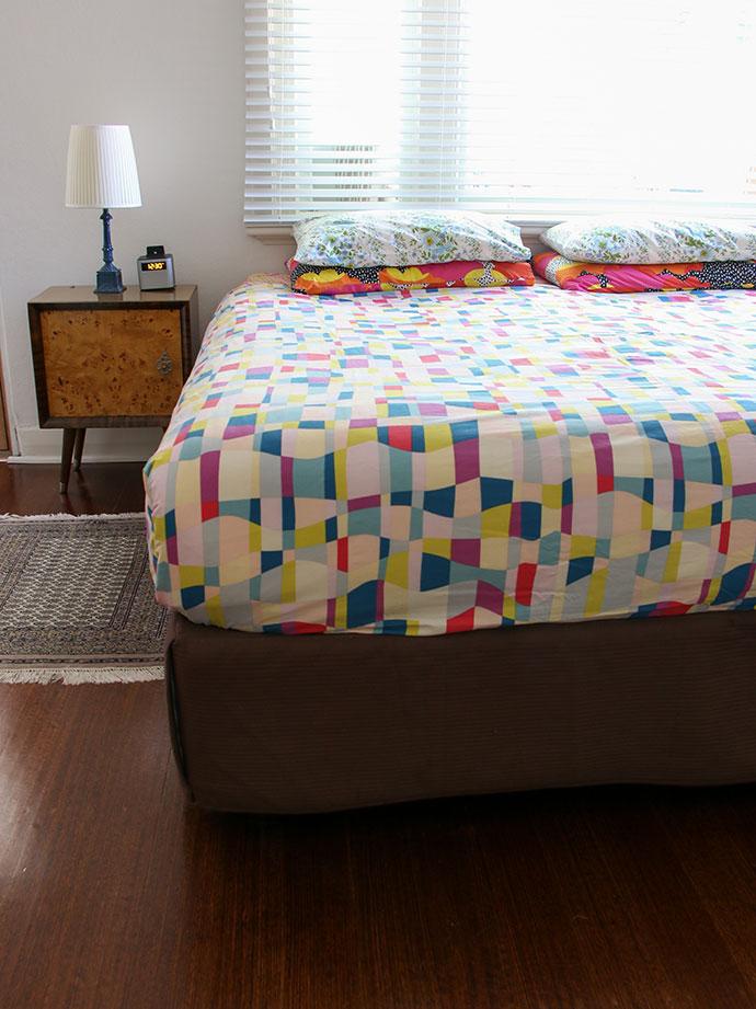 How to choose carpet - Bedroom makeover moodboard