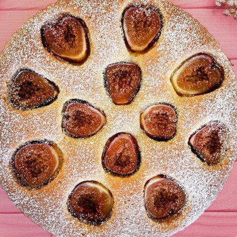 FIg and Almond Tart Recipe - mypoppet.com.au