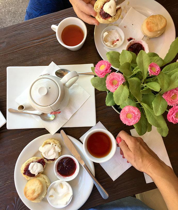 Classic Devonshire tea - Hepburn Springs - mypoppet.com.au