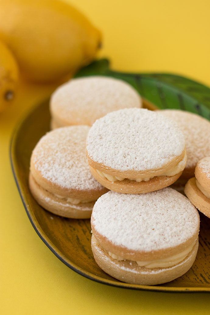 Lemon cream filled biscuit recipe - mypoppet.com.au