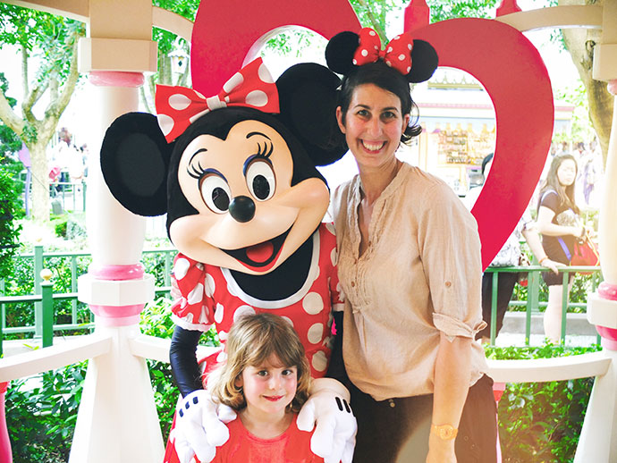 Minnie Mouse Disneyland Hong Kong