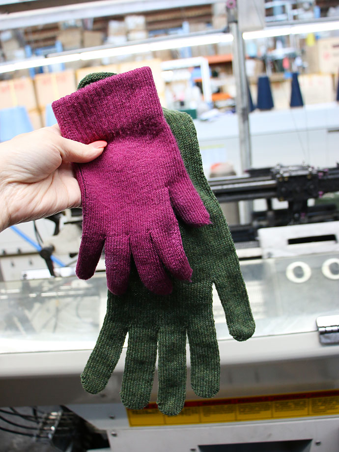 glove knitting