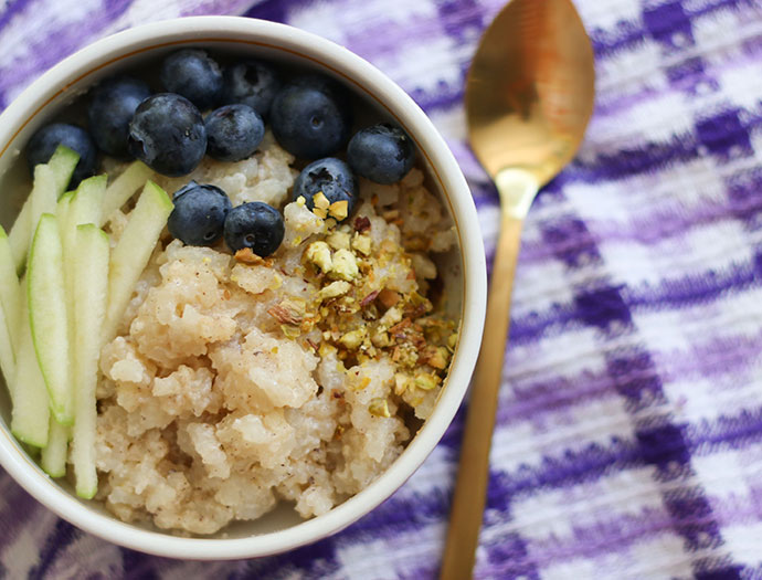 Delicious Slow Cooker rice pudding recipe - ideal for breakfast - mypoppet.com.au