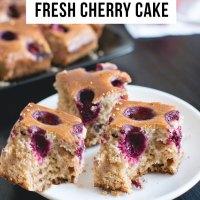 Easy Bake Cherry Cake