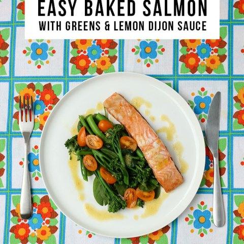 Baked Salmon Recipe - Mypoppet.com.au