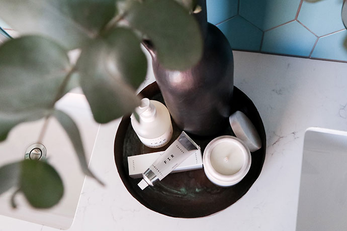 Bathroom Vanity styling - mypoppet.com.au