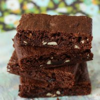 Fruit & Nut Choc Brownies