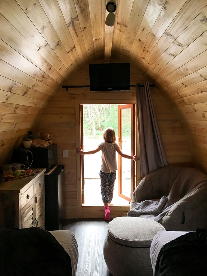 Inside View Glamping pods Yarra Valley - mypoppet.com.au