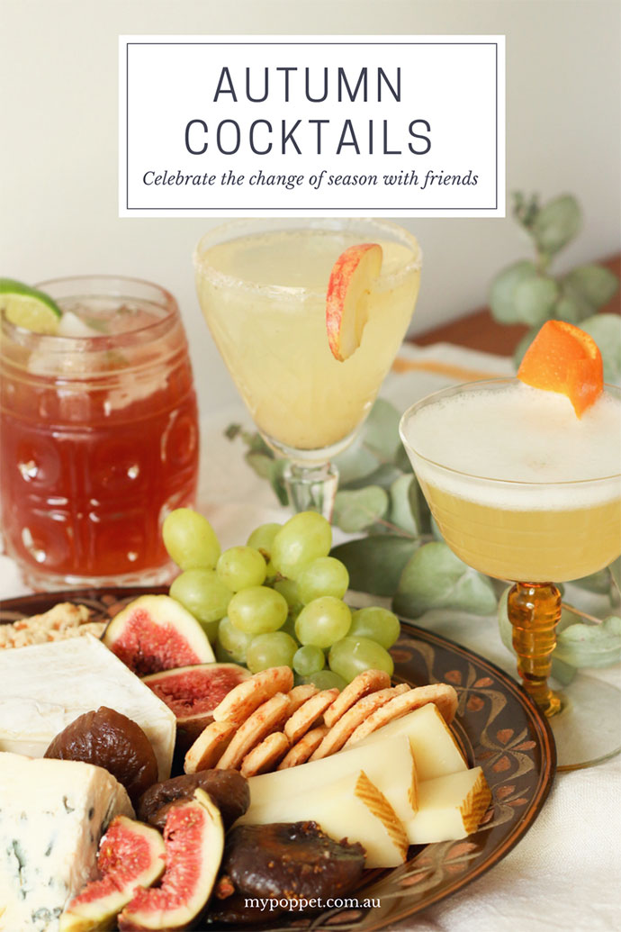 3 Autumn Cocktails to enjoy this fall - mypoppet.com.au