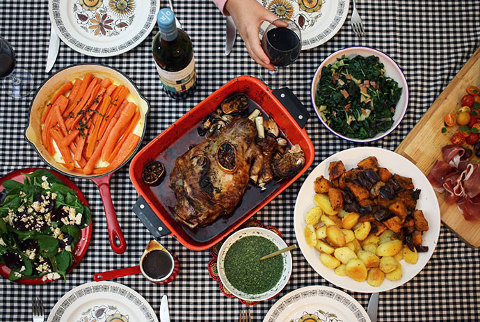 How to make the best Sunday Roast Lunch - mypoppet.com.au
