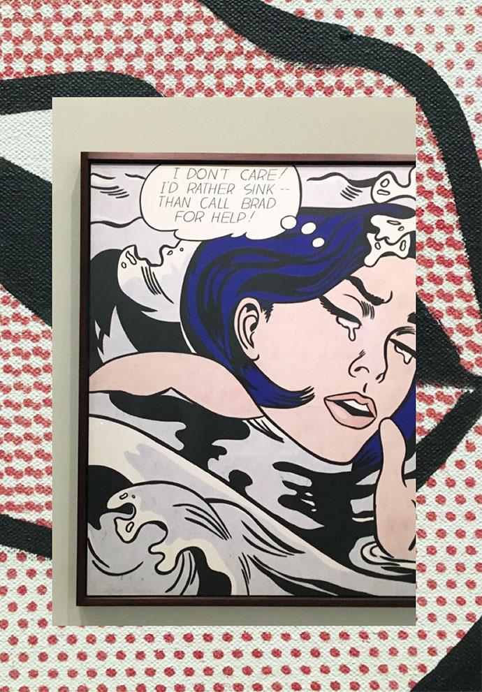 Roy Lichtenstein American 1923–97 Drowning girl 1963
