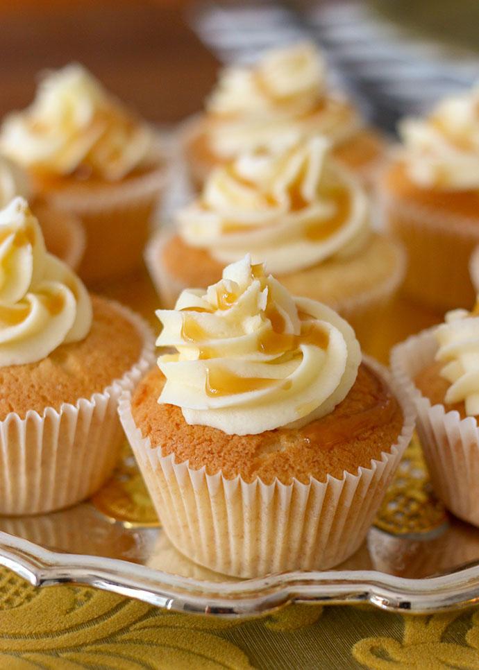 Butterbeer Cupcake recipe - mypoppet.com.au