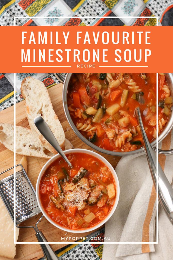 winter minestrone soup recipe - mypoppet.com.au