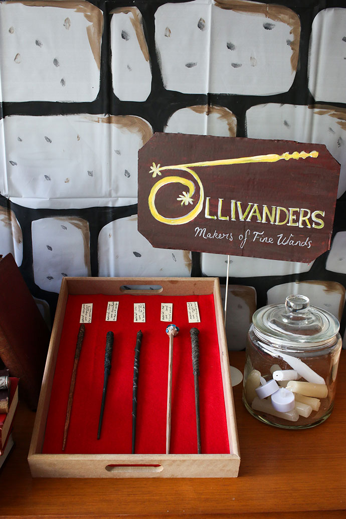 Harry Potter Party - Ollivanders wand shop - mypoppet.com.au