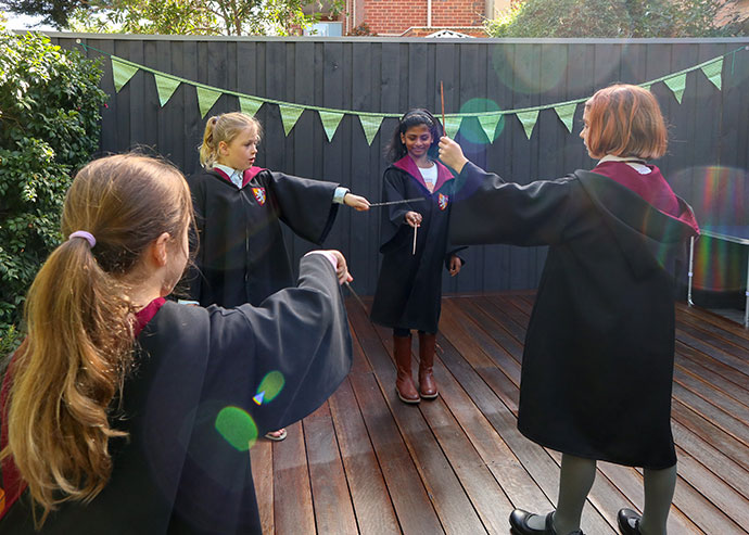 Harry Potter Party Ideas - Spells class - mypoppet.com.au