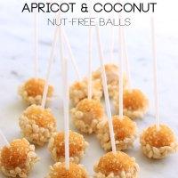 Crunchy Apricot & Coconut Nut-Free Balls