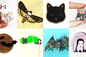 9 Spooky Halloween Pins & Brooches you'll want to wear year round