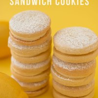Lemon Buttercream Sandwich Cookies