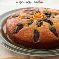 Orange & Date Syrup Cake
