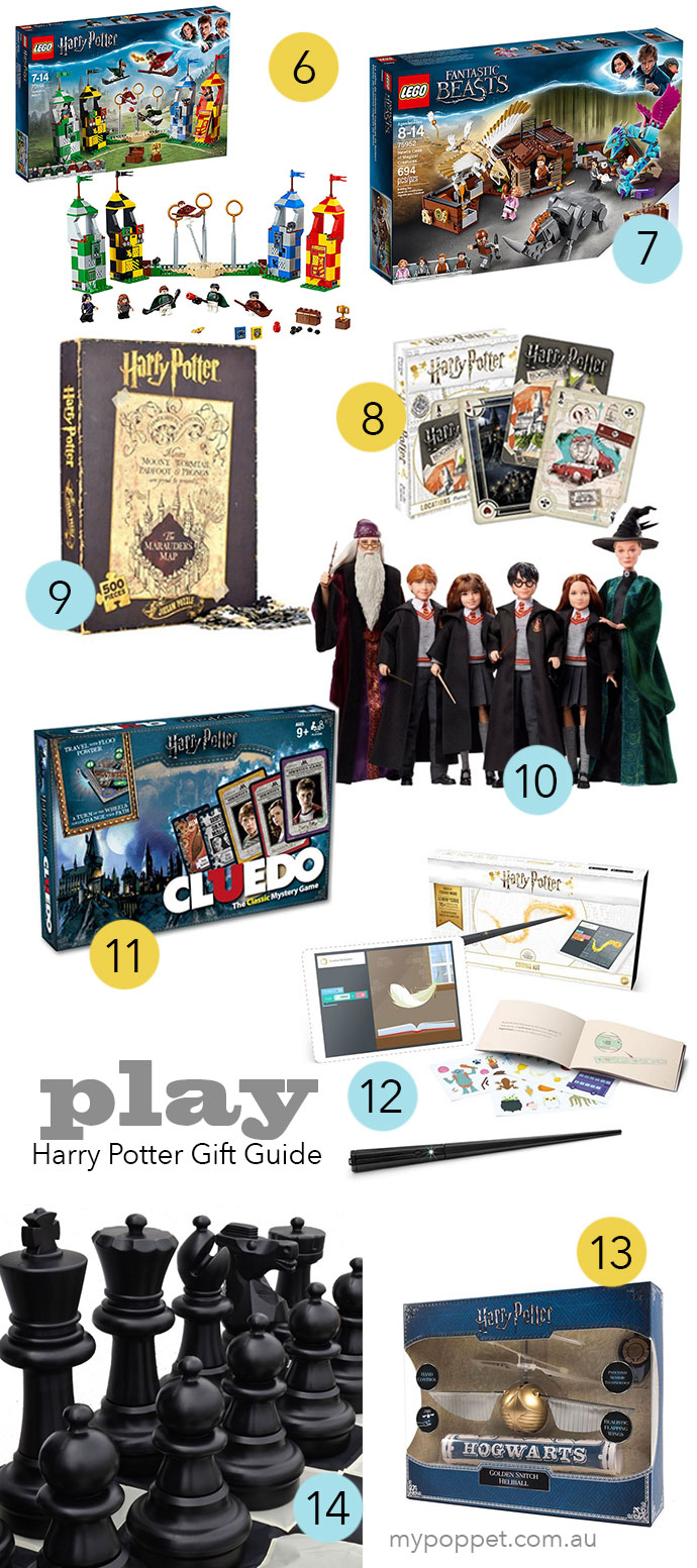 The Ultimate Harry Potter Gift Guide Play Toys- mypoppet.com.au