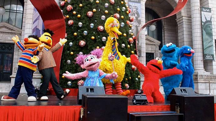 sesame street show Universal studios singapore