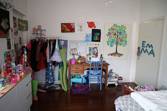 Bedroom makeover before - mypoppet.com.au