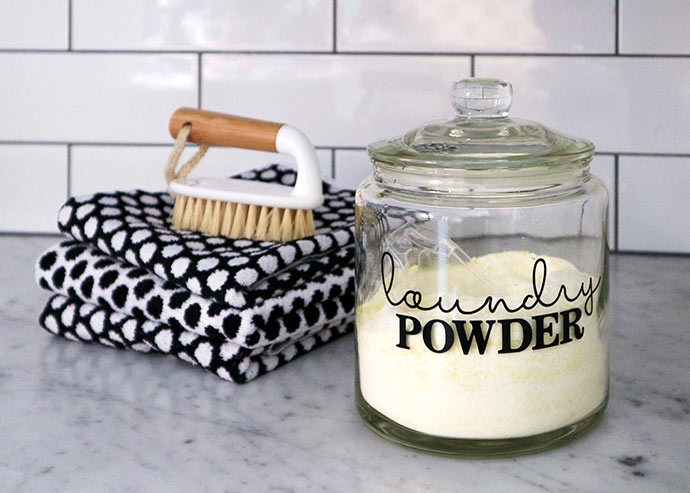 Homemade washing powder recipe