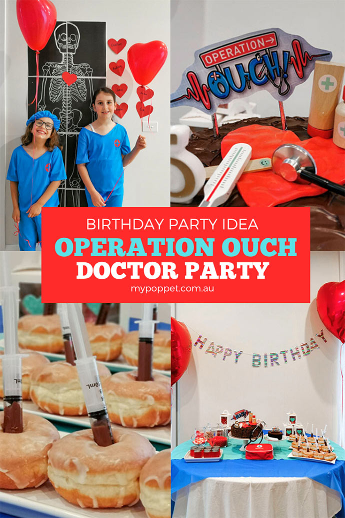 Doctor Birthday Party ideas