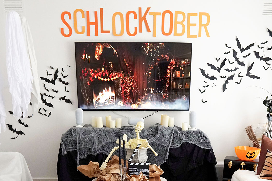 Decorate for Halloween Movie Nights – Embrace Schlocktober as your Fun Spooky Tradition!