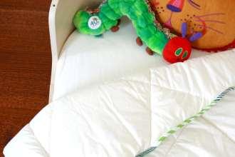 toddler duvet DIY