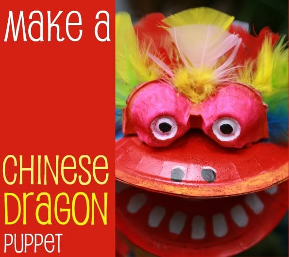 Chinese New Year Dragon Puppet - Mypoppet.com.au