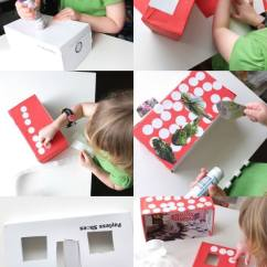Folding Chair Upcycle Louis Dining Chairs Uk Kids Craft: Shoe Box Doll House - My Poppet Makes