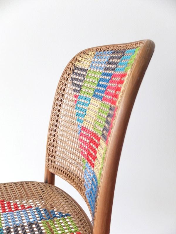 cross stitch chair mypoppet.com.au