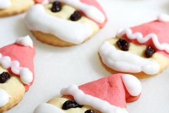 bake christmas biscuits cookies santa