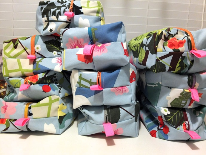 10 waash bags