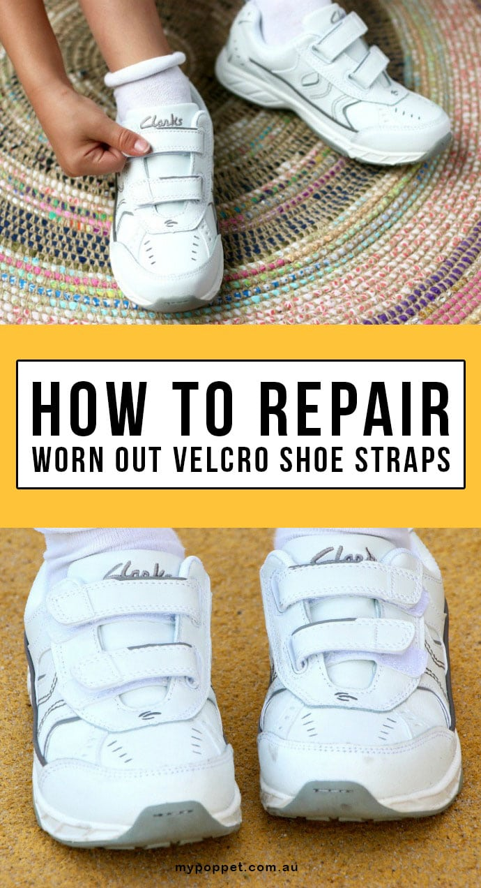 A quick video tutorial showing you how to easily repair worn out velcro fastener on sports shoes and kids shoes