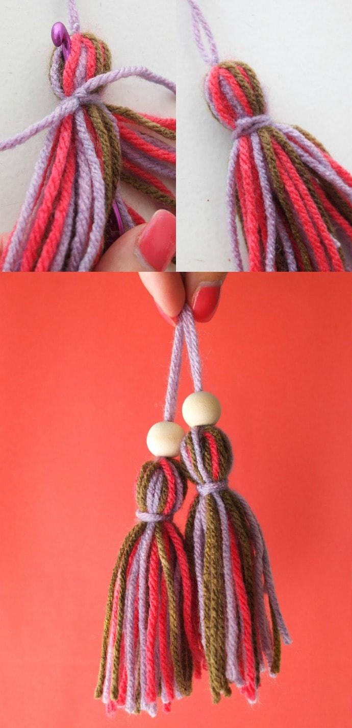 How to make a tassel - mypoppet.com.au